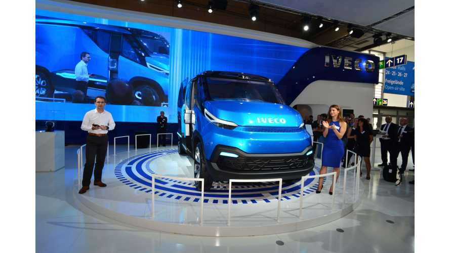 Iveco Presents Concept Door-to-Door Delivery Vehicle Vision