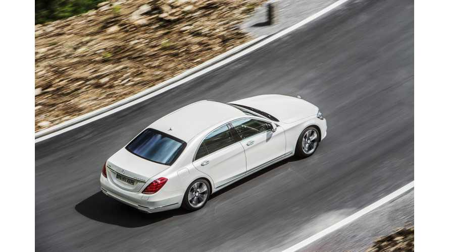 Mercedes-Benz' Plug-In Hybrid Offensive - 10 PHEVs By 2017