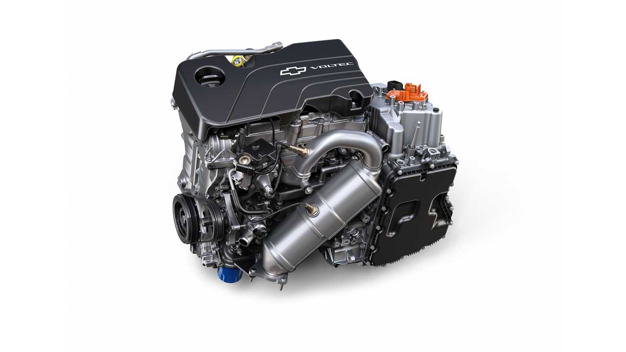 The second-generation Chevrolet Volt will use an all-new Voltec drive unit and 1.5L 4-cylinder engine for extended range operation. The system was designed to be more efficient while providing increased acceleration.