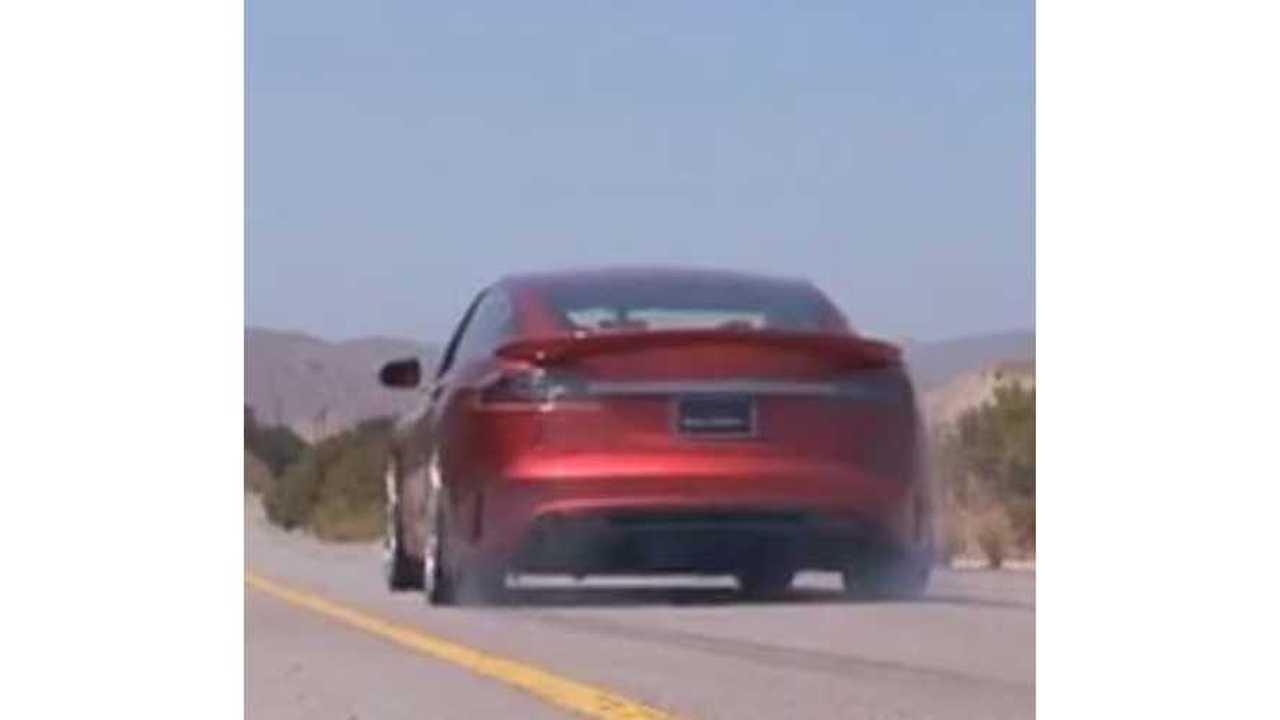 Saleen FourSixteen Tesla Model S Breaks Sound Barrier, Lays Rubber - Video
