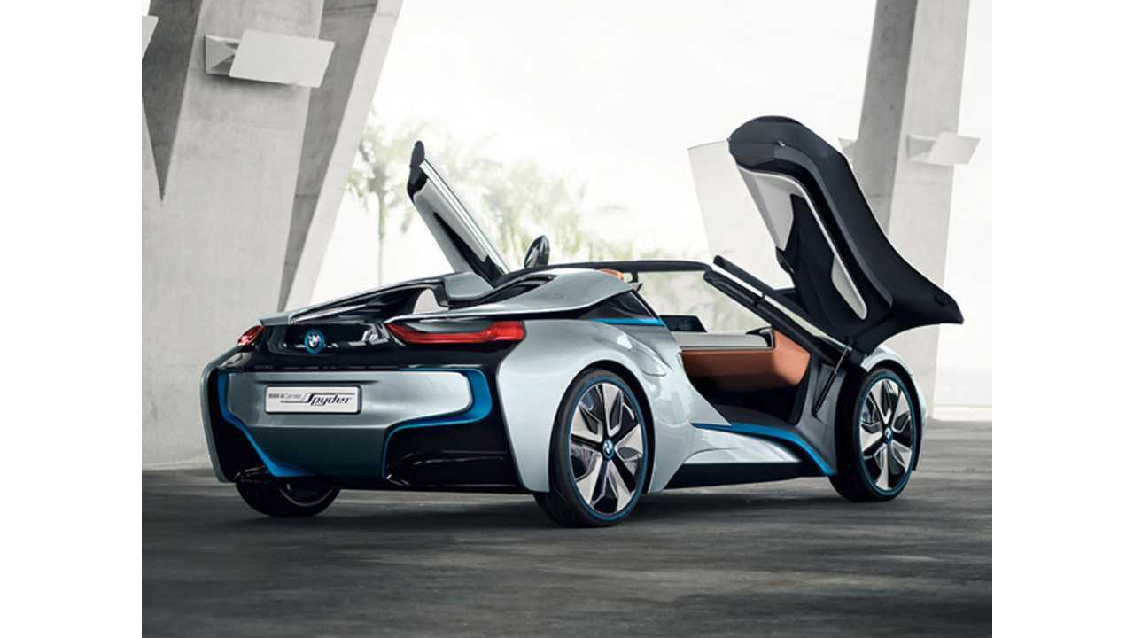 Will The BMW i8 Spyder Enter Production?
