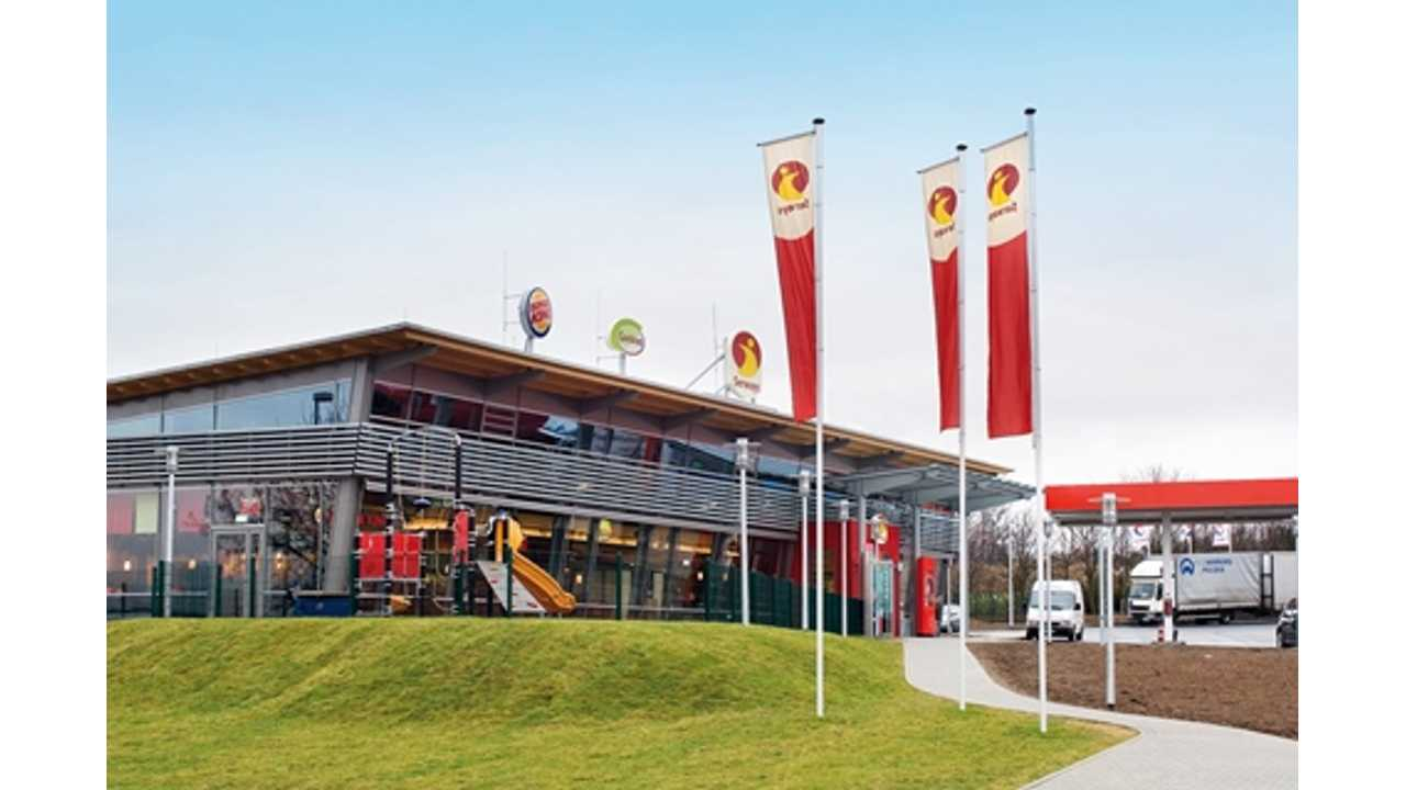 RWE will equip a total of 49 Tank & Rast motorway service stations with ultramodern quick-charging stations.