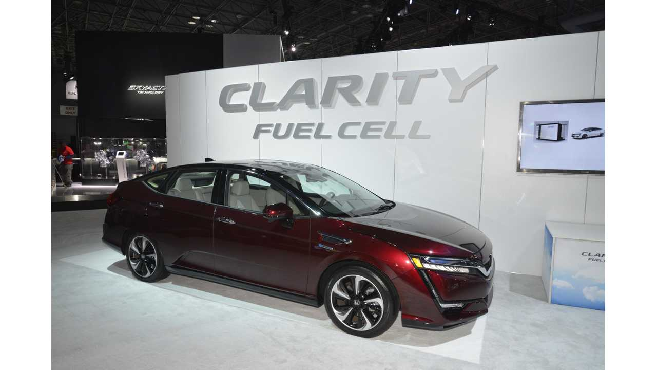 Honda CEO Discusses Automaker's Electric Car And Fuel Cell Dominated Future