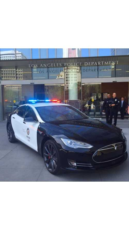 LAPD Now Testing Tesla Model S As High-Speed Pursuit Vehicle