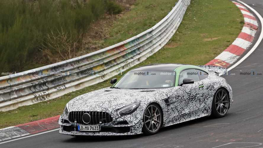 Mercedes-AMG GT Black Series se ve salvaje de cerca