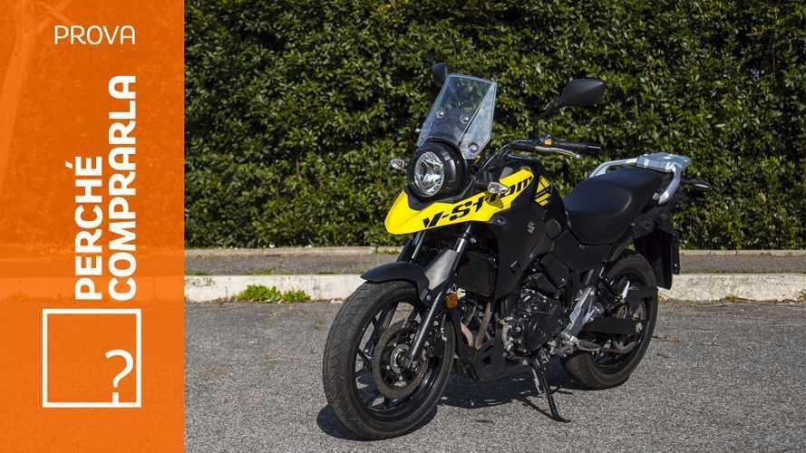Suzuki V-Strom 250 ABS, perché comprarla... E perché no