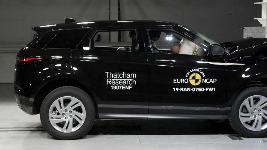 Range Rover Evoque e Citroen C5 Aircross - Crash-test