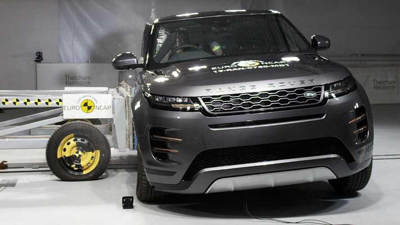 Range Rover Evoque - Euro NCAP crash test aprile 2019