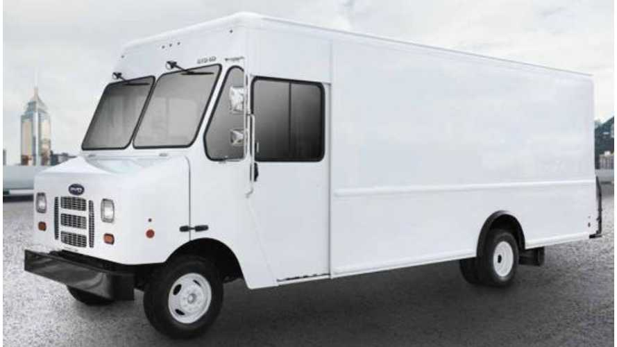 BYD To Launch Electric Step Van In U.S.