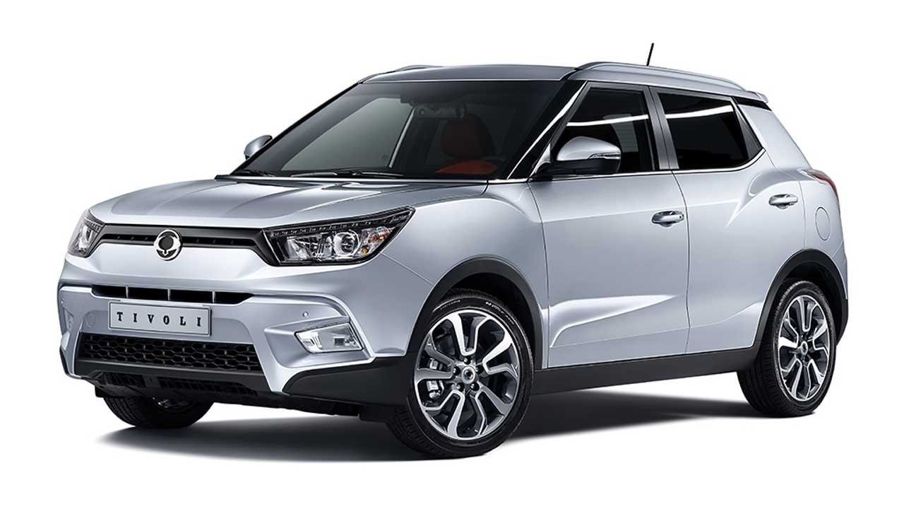 Extended-Range Electric Ssangyong Tivoli EVR Concept Revealed in Geneva