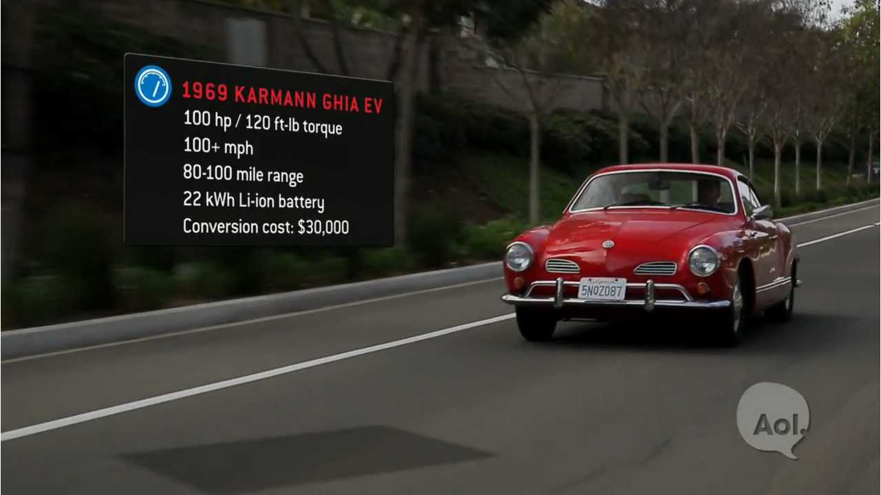 Translogic Drives EV West Electric Volkswagen Karmann Ghia - Video
