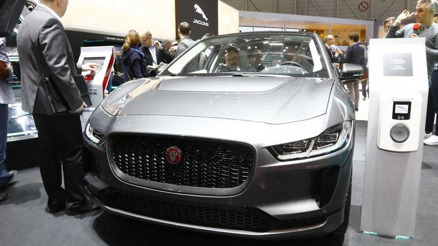 UPDATE: Jaguar I-Pace Live Images From Geneva Debut