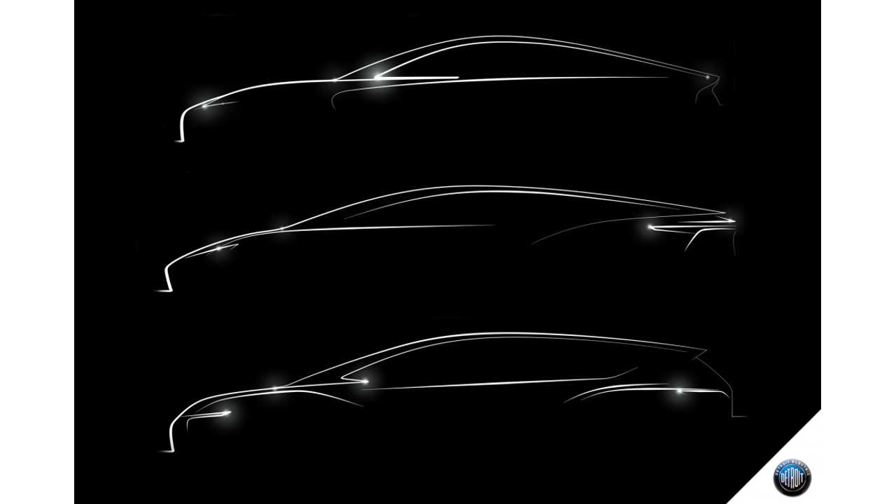 Detroit Electric Teases Trio Of New Electric Cars, Including A CUV