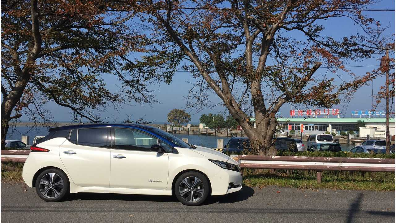 Fully Charged Test Drives 2018 Nissan LEAF in Yokohama - Video