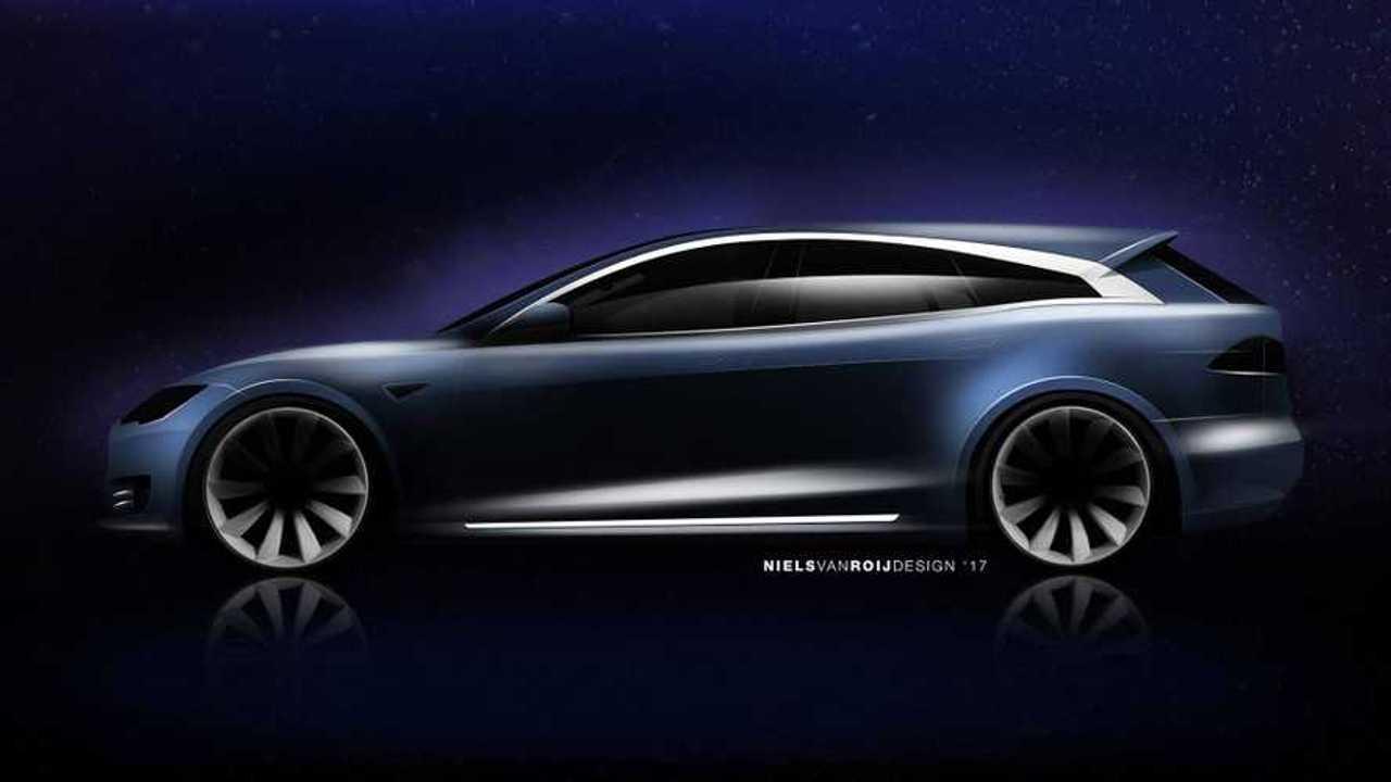 Tesla Model S Wagon Coming In Early 2018
