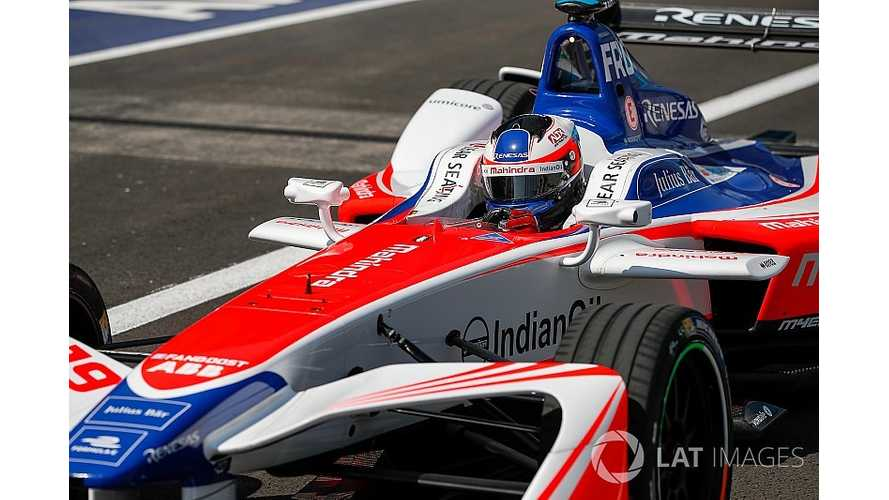 Rosenqvist Qualifies On Pole For Mexico City Formula E ePrix