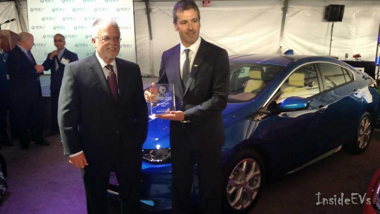 2016 Chevrolet Volt Declared Green Car Of The Year