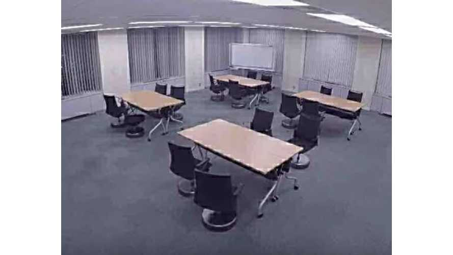 Check Out Nissan's Autonomous Office Chair - Video