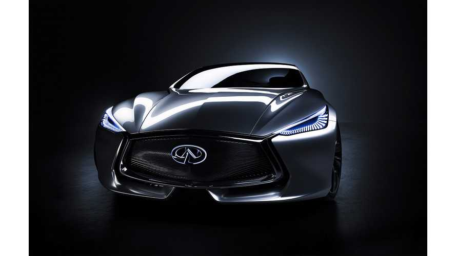 Nissan's First Plug-In Hybrid To Be Premium Infiniti Q80 Inspiration - Report