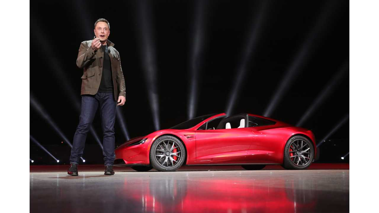 Tesla Roadster To Get Performance-Boosting SpaceX Option Package