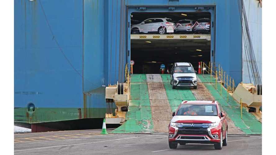 First Batch Of 2019 Mitsubishi Outlander PHEVs Arrive In UK