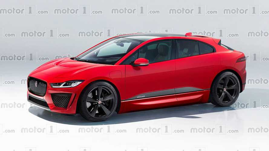 Jaguar I-Pace SVR Rendered To Life