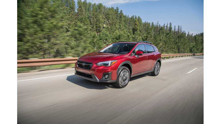 Subaru Announces 2019 Crosstrek As First Plug-In Hybrid