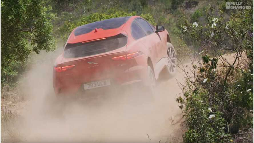 Jaguar I-PACE Gets Driven Off-Road & On Track - Fully Charged