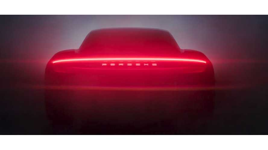 Porsche Teases Production Taycan For First Time - Video + Images