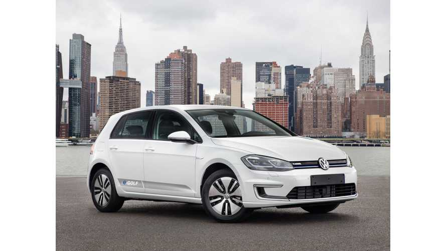 Volkswagen e-Golf In Very Limited Supply In U.S.