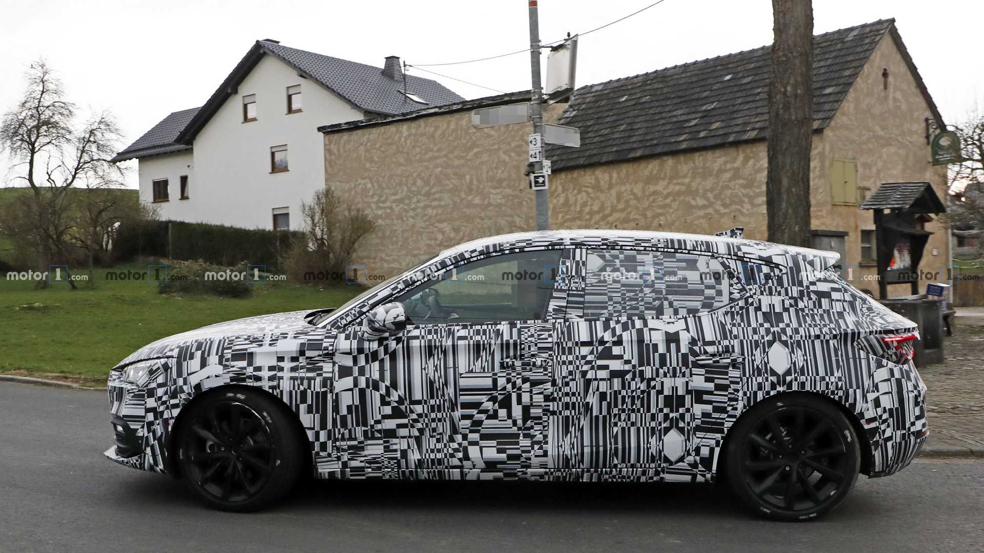 2020 - [Seat] León IV - Page 6 2020-seat-leon-spy-photo