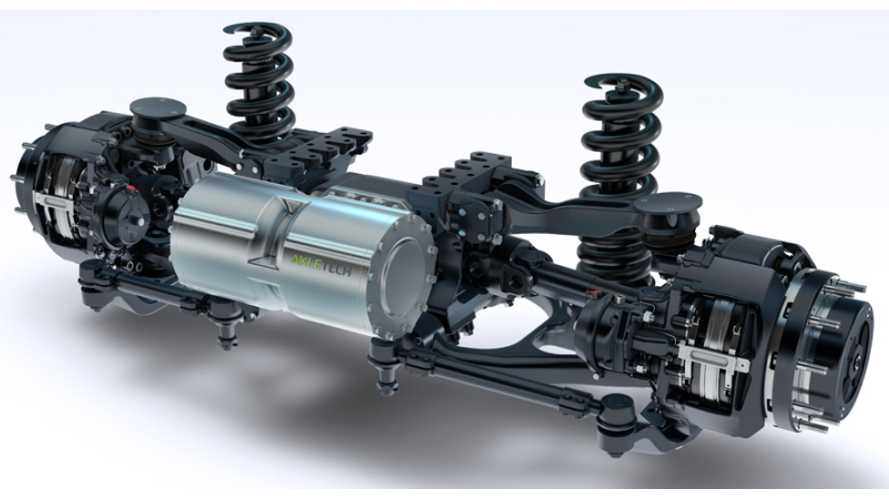 Thor Trucks To Develop Heavy-Duty E-Powertrain System With AxleTech