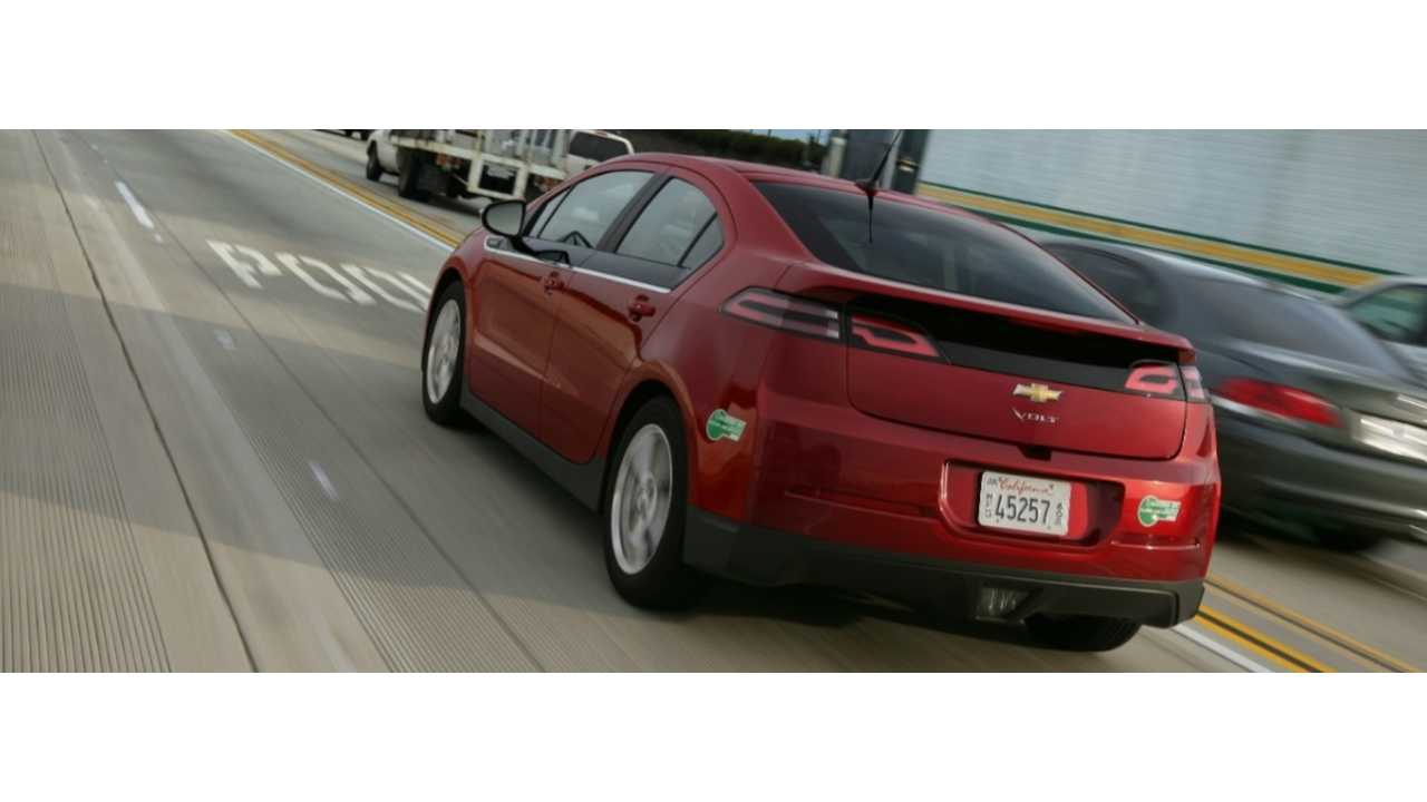 California Removes Limit On Green HOV Stickers For PHEVs