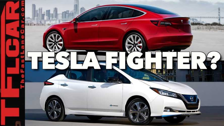Can Nissan LEAF Plus Compete With Tesla Model 3 & Chevy Bolt? Video