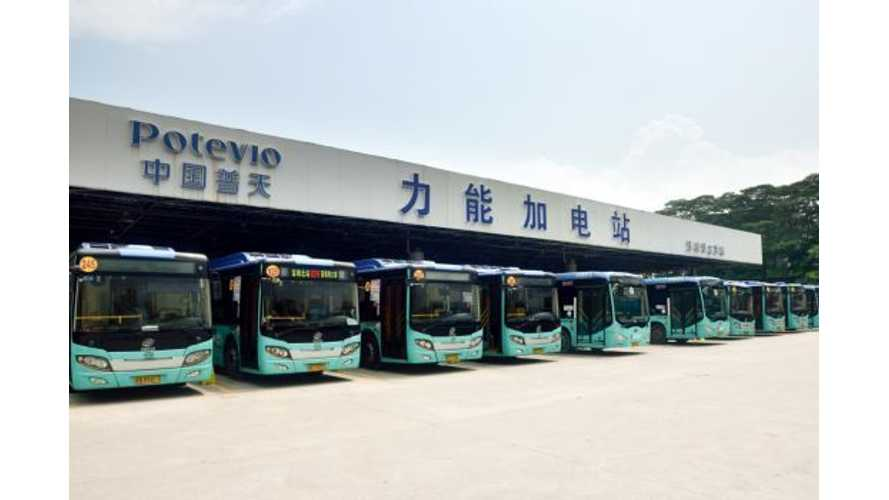 Shenzhen Now Home To 16,000 Electric Buses