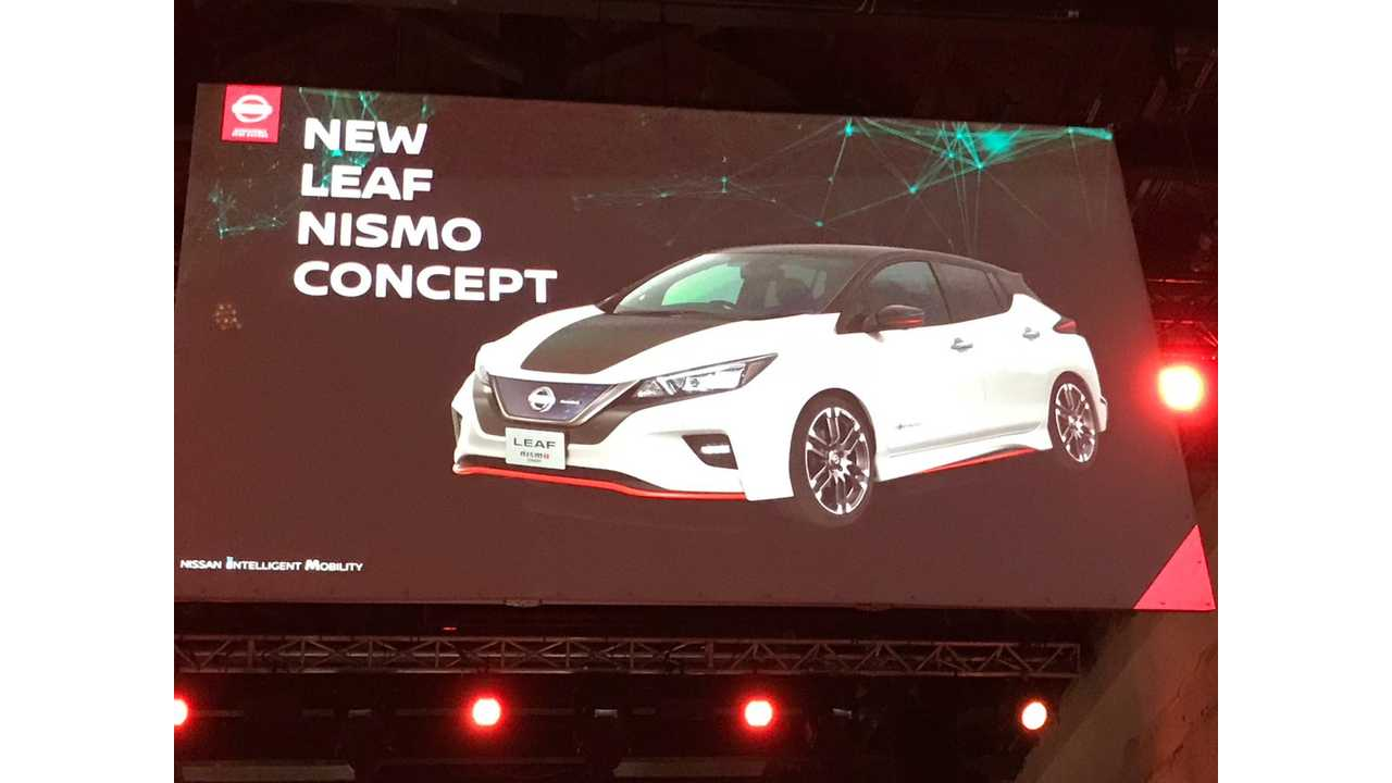 Nissan Confirms New LEAF Nismo Concept For Tokyo Debut