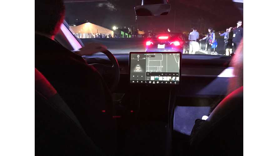 Interactive Mock Up Allows You To Take Control Of Tesla Model 3 UI