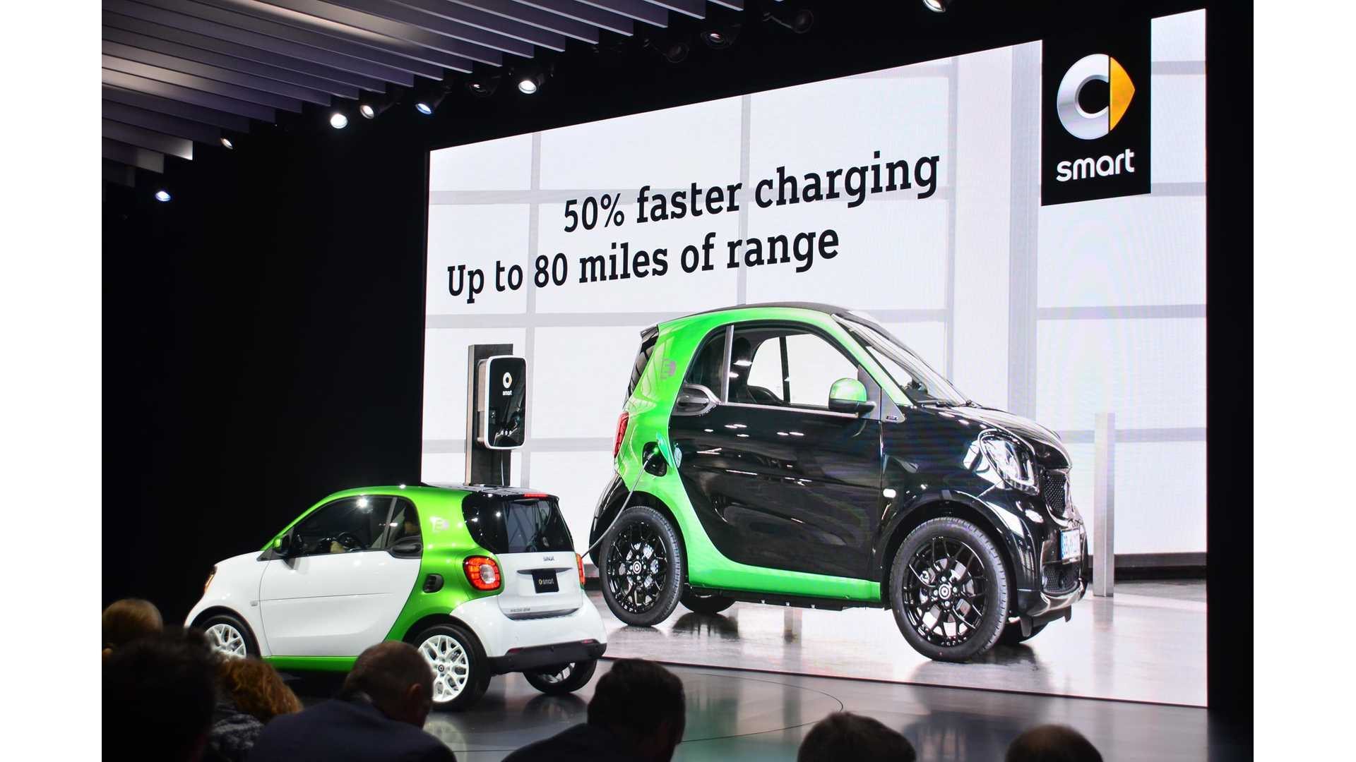 Smart Done With Gas Cars In Us Will Now Only Offer Electric Vehicles Insideevs Photos