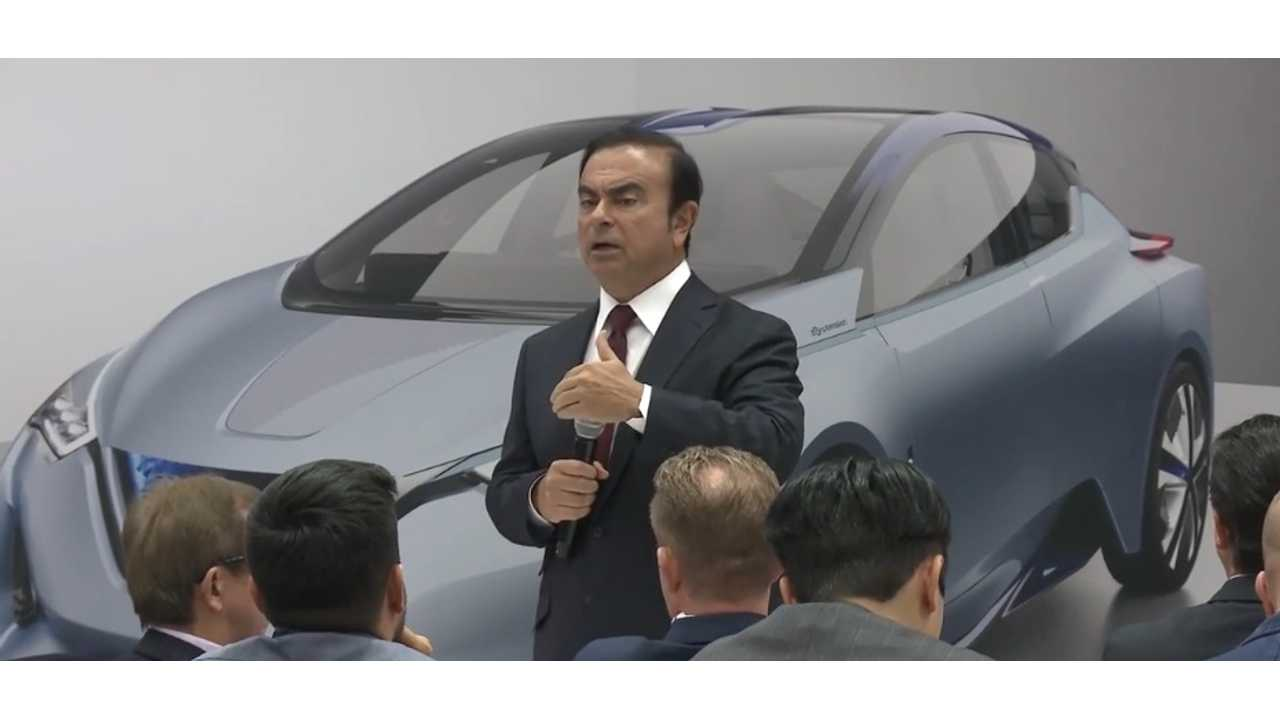 Nissan CEO Carlos Ghosn Has Something Electric To Share, Will Open CES In January