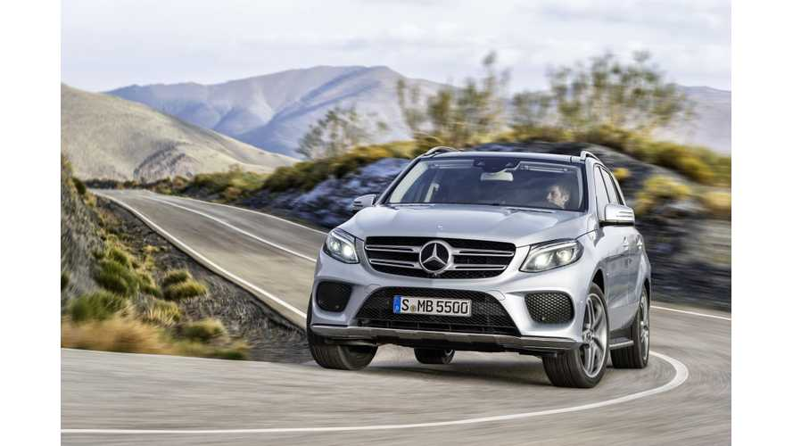 Mercedes-Benz GLE 500e PHEV Lifecycle Analysis