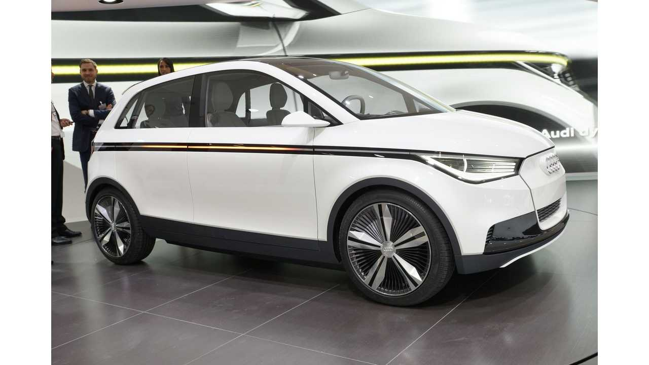 Audi A2 Electric Coming By End Of Decade