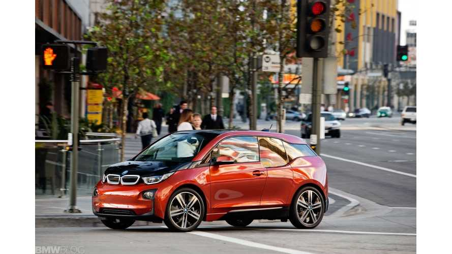 BMW Listed As World's Top Green Automaker By Newsweek