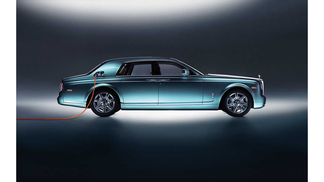 Rolls-Royce Electric Luxo Barge Likely Coming Due To Demand In China