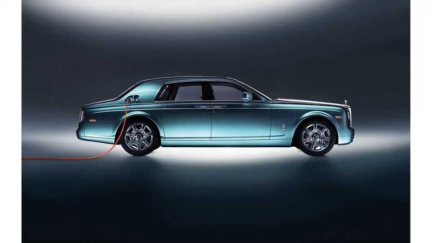 Rolls-Royce développe sa première voiture électrique