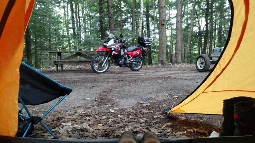 10 Motorcycle Camping Essentials
