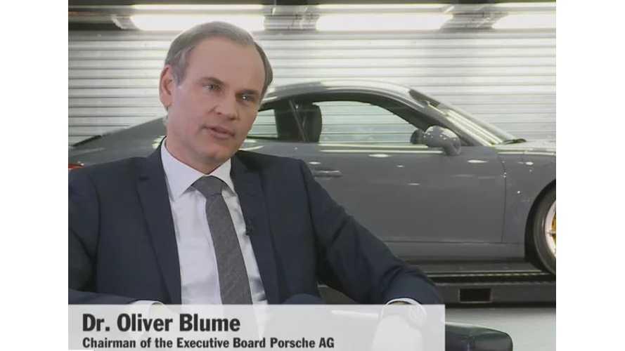 Porsche Commits To Hybrid 911
