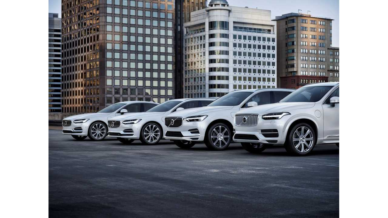 Volvo Cars' T8 Twin Engine Range - S90, V90, XC60 and XC90 T8 Twin Engine AWD Inscription, Crystal White Pearl