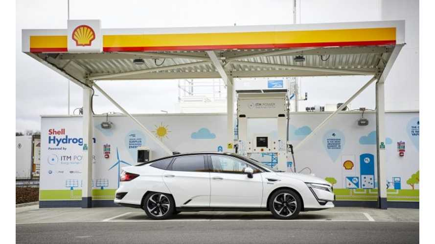 Honda Pays £10/kg (Nearly $13) For Clarity's Hydrogen Supplies In UK