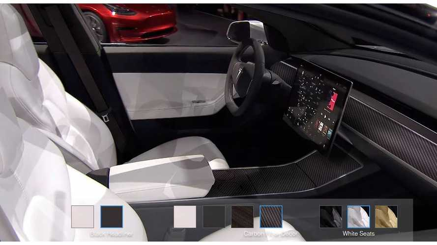Tesla Insider Says Model 3 Will Initially Come With Just One Interior Color