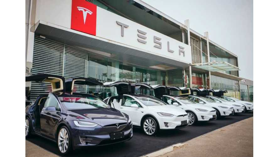Tesla and EVs Front And Center At Shanghai Auto Show